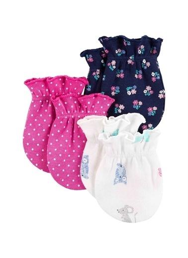 Carters Carter'S 3'Lü Bebek Eldiveni Renkli